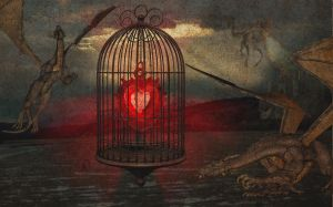 Caged love... by DTM81