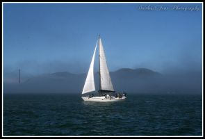 Sailboat II by DarkestFear