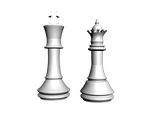 Chess Pieces 2 by Mouse-M