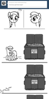 Dumpster Derpy - Thrown Away by Nimaru