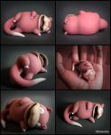 Sleeping beauty, Slowpoke by DannArte