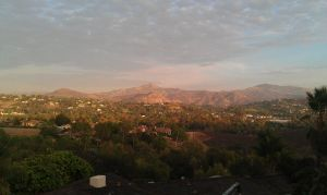view from a backyard in Escondido CA by capturedpoetry