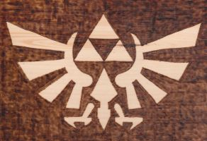 LoZ Royal Crest by TheTurnerPack