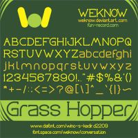 grasshopper font by weknow by weknow
