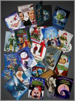 Christmas DVDs by deexie