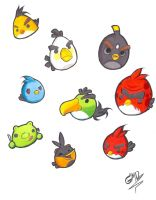 Angry Birds by GM12