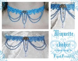 Minuette choker by redLillith