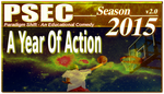 PSEC 2015 A Year Of Action by paradigm-shifting