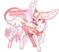 [Minkin] Strawberry Cupcake - Closed by SA1B0T
