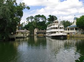 Liberty Square Boat 3 by WDWParksGal-Stock