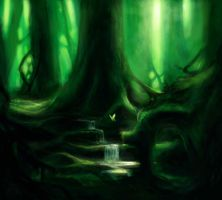The forest by adrian4rt