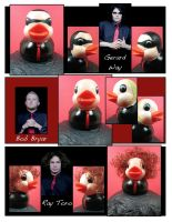 MCR as duckies 1 by maskedzone