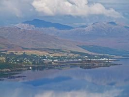 Loch Carron and reflections by piglet365
