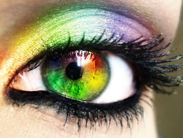 Rainbow Eye by Zayix