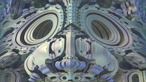 Fractal Mask With Reflections by Topas2012