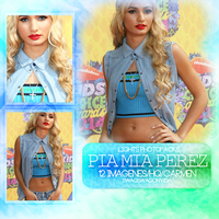 +Photopack Pia Mia Perez LP by SwagSwagony