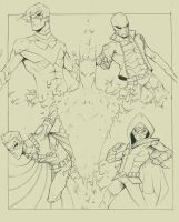Sons of Batman WIP by COLOR-REAPER