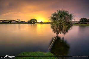 Warm-Colors-after-the-Storm-at-Lake-in-Palm-Beach- by CaptainKimo