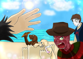 Horror Slashers During Holiday by Sapphiresenthiss