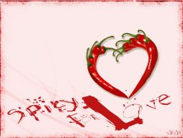 Spicy for Love by villanitadesign