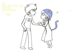 Nepeta x Sollux by ShimmyEevee