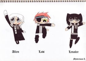d gray man puffs by Mysterious-L