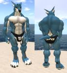 Doggy Kruger Daenotaur Muscle Mod by shadowwolf34965
