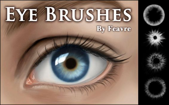 Eye Iris Brushes by feavre