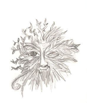 Green man by Oulvine
