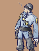 Soldier Boy by LostPuzzle