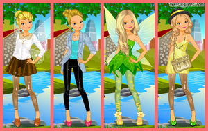 Tinker Bell Today by DressUpGamescom