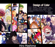 Fairy Tail - Collab By Design Of Color by Perfectionxanime