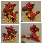Firebird Plushie Edition~! by Acc3a