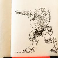 Day 19, The Walker by n2c