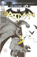 Batman Sketch Cover by Elvatron