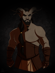 DA x GoT | Khal Drogo by Pugletz