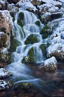 Icy Cascades by AndreasResch