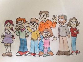 Arthur and Friends  ( My Cartoon Version ) by NiallNorwood66