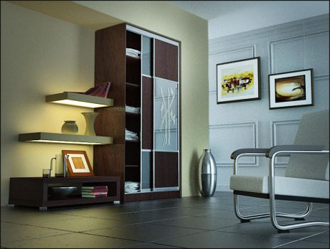 Interior by sergin3d2d