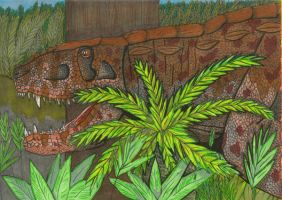 Postosuchus by Hellraptor by All-Crazy-Reptiles