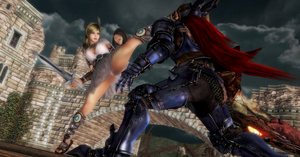 Sophitia vs Nightmare by tzj303