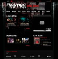 Tanatron Death Metal Band by vortiss