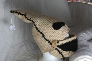 Oogie Boogie Masked Hat With Spider by CreativeExcess