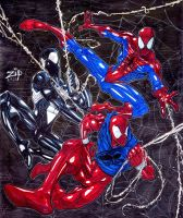 Spidermen by ZipDraw