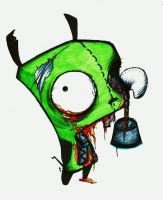Zombie Gir by DJSIC