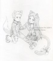 Commission for AiM-S by garun