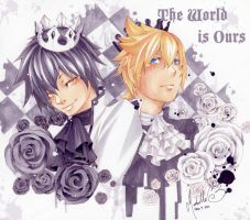 .:KHBBS:. World is Mine by xLuneNoire