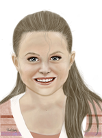 Smile - Protrait of Kenna by MariColl