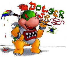 Bowser Jr. by FroggyMudd