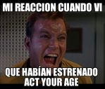 Reaccion Act Your Age by parejascpfans